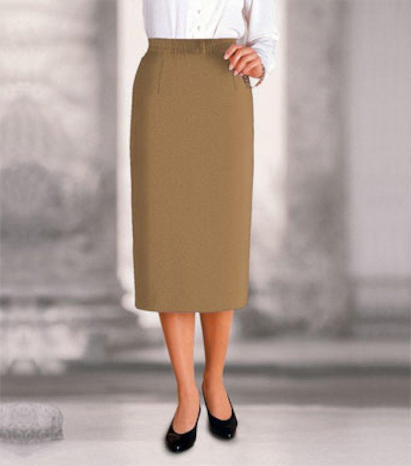 Falda larga mujer cintura elástica