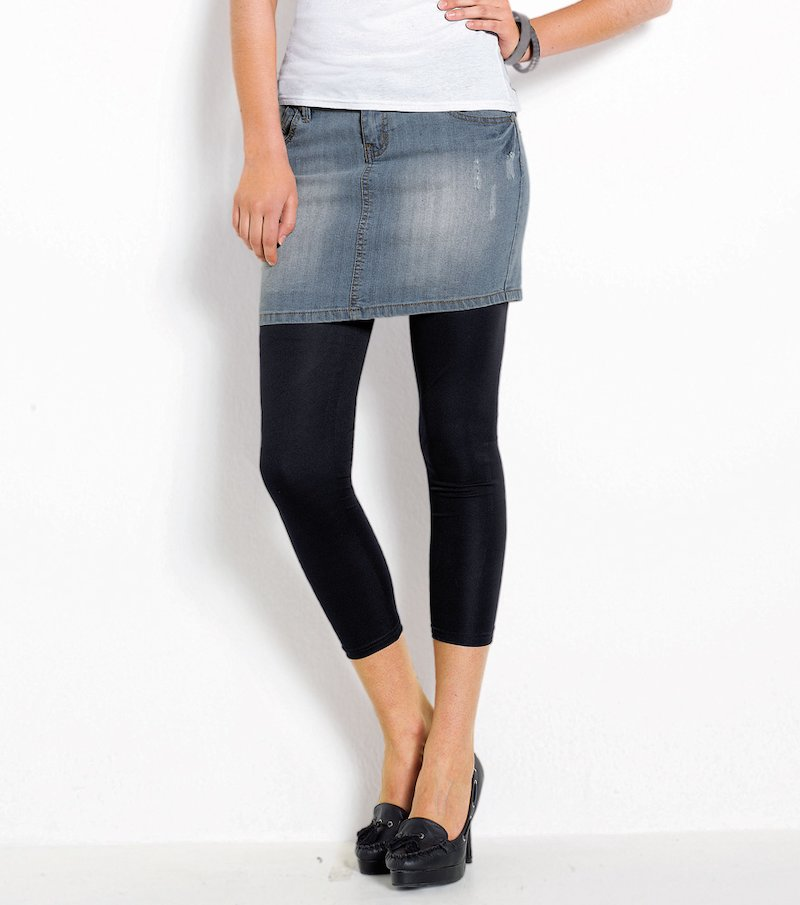 Falda vaquera jeans mujer