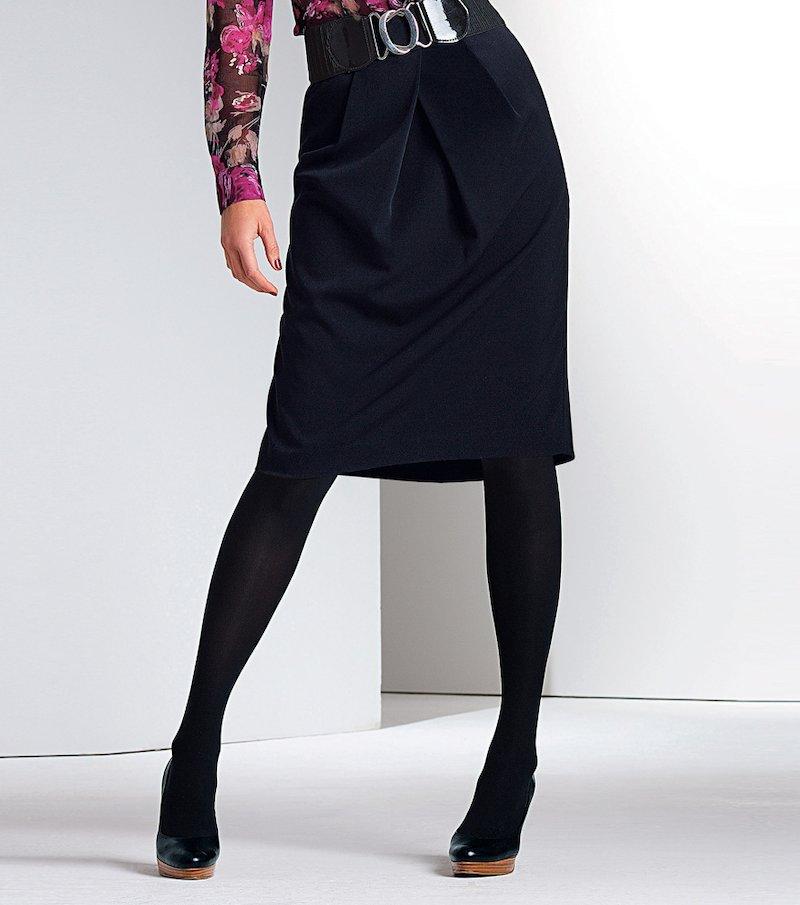 Falda mujer tejido elástico