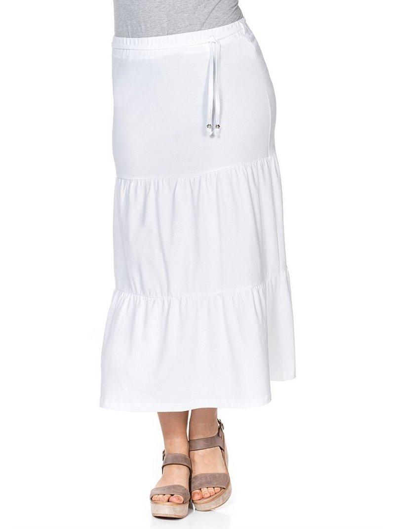 Falda larga para mujer
