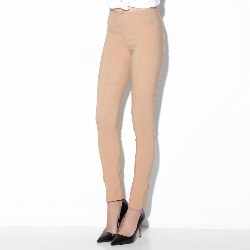 Pantalón tregging con bandas elásticas