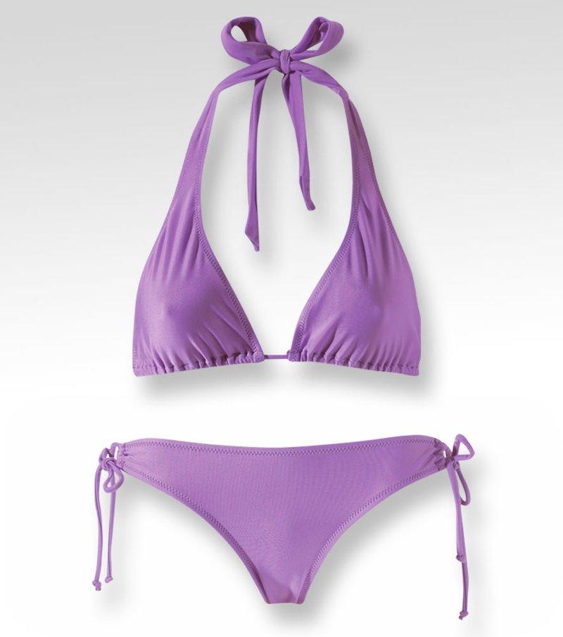 Bikini 2 piezas mujer corte triángulo