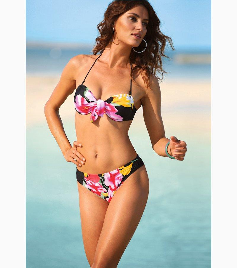 Bikini 2 piezas mujer con aros tirantes extraíbles