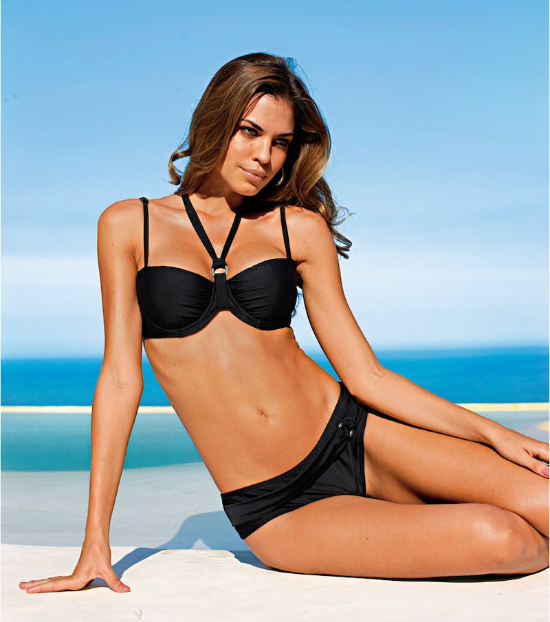 Bikini 2 piezas mujer con relleno