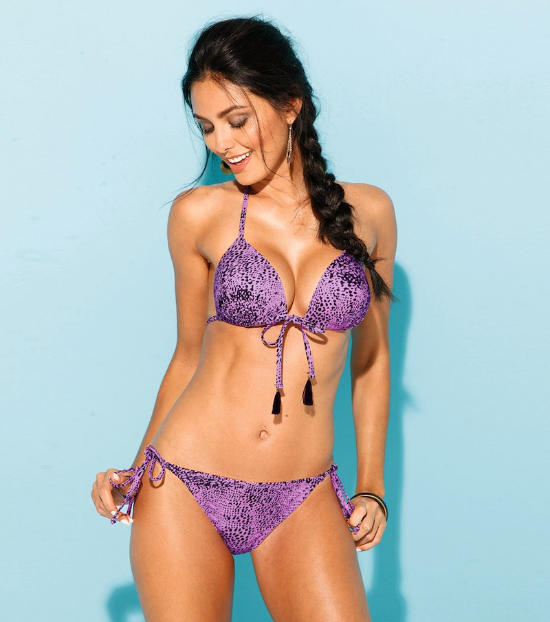 Bikini 2 piezas mujer con relleno push up
