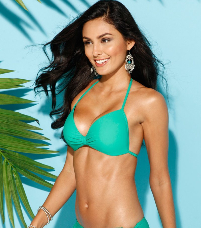 Sujetador bikini mujer push-up