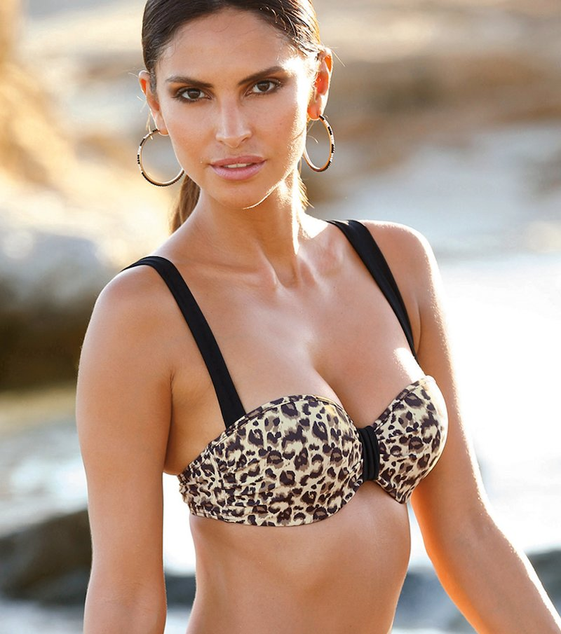 Sujetador bikini para mujer bandeau