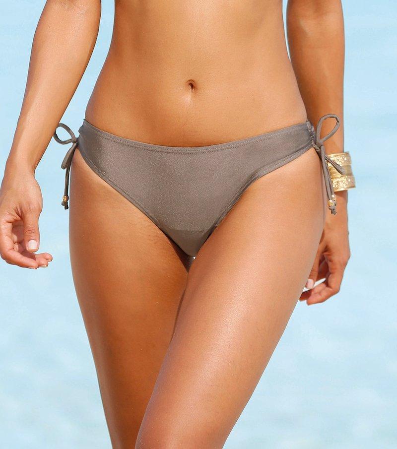 Braga de bikini mujer con lazos de ajuste