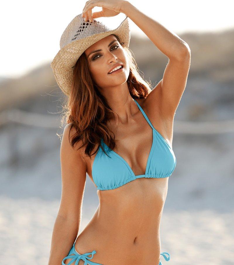 Sujetador bikini mujer triángulo combinable