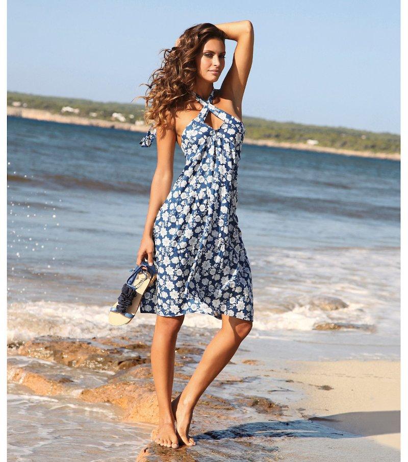 Vestido mujer multiposición: vestido, top o falda