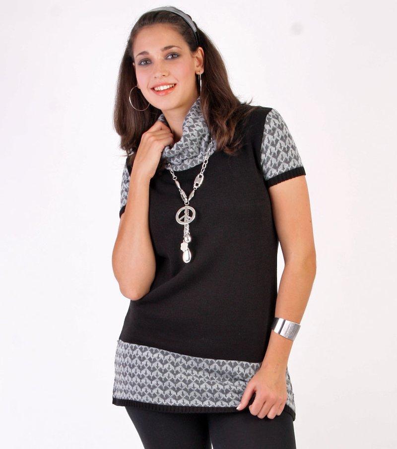 Vestido mujer de punto tricot