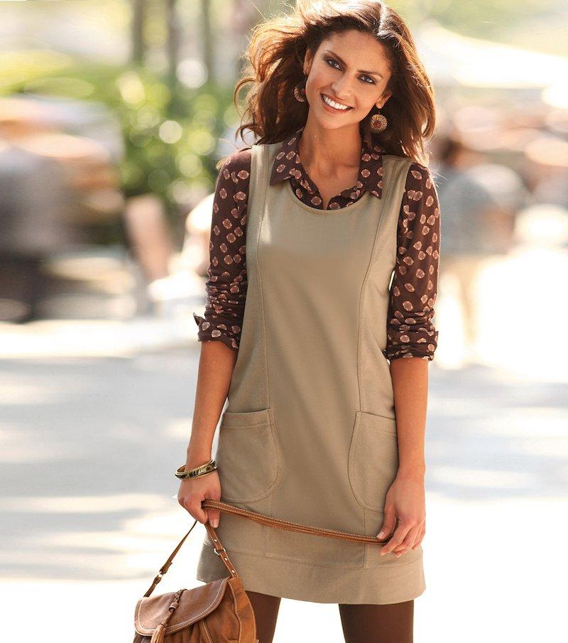 Vestido pichi mujer sin mangas elástico