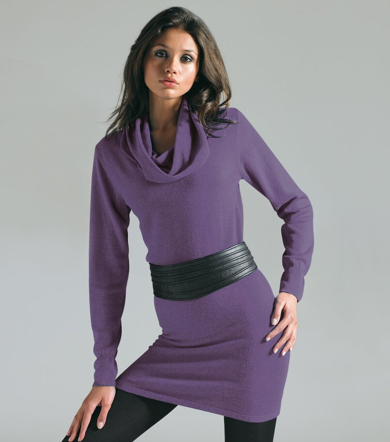 Vestido Punto Talla:42-50 - Lila