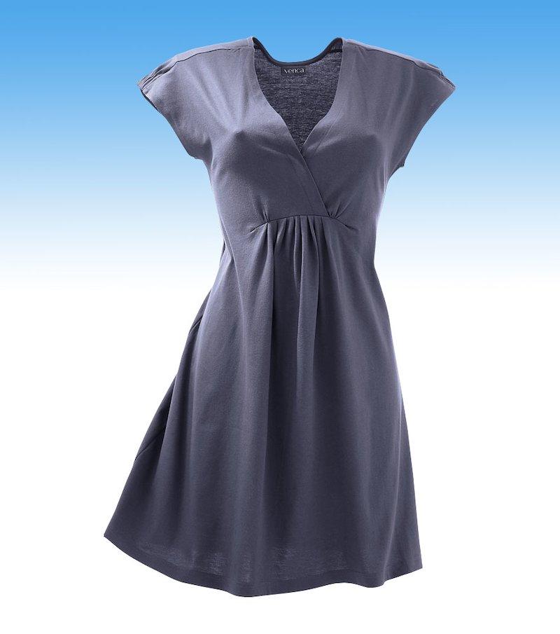 Vestido mujer manga corta de punto