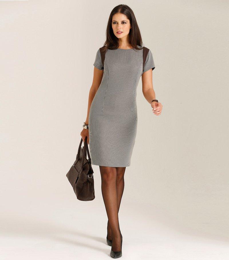 Vestido mujer manga corta