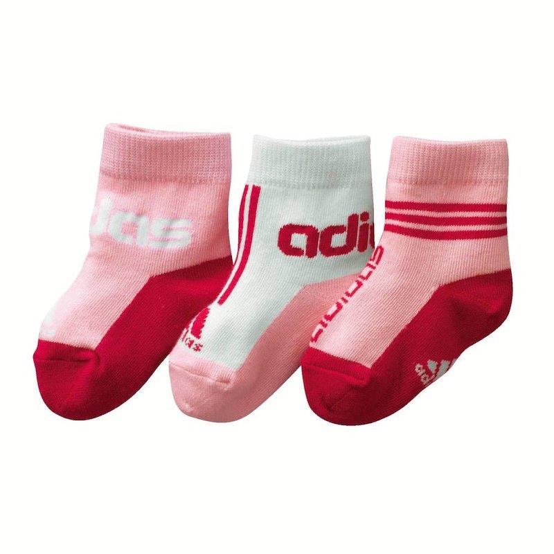 Lote 3 pares de calcetines ADIDAS con un toque deportivo