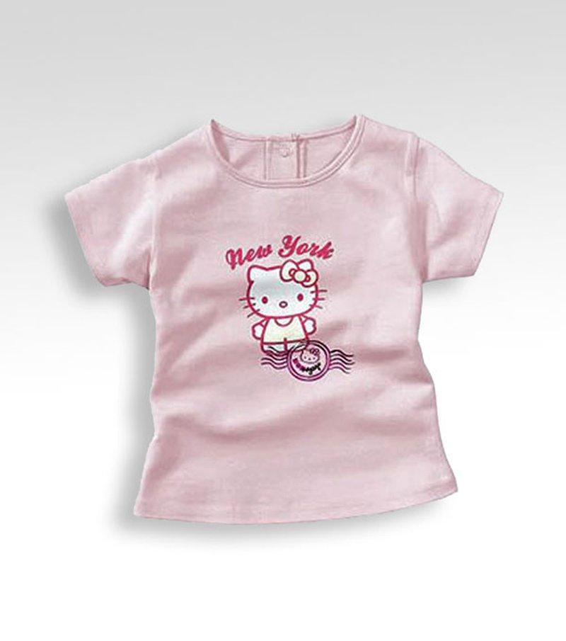 Camiseta niña HELLO KITTY manga corta
