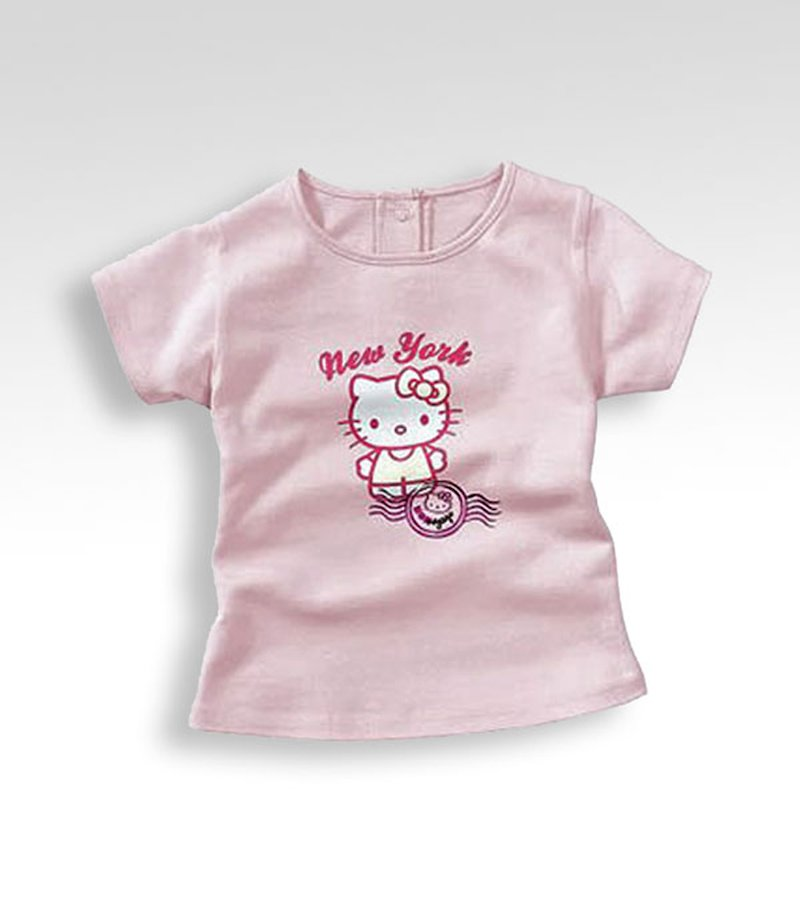 Camiseta niña HELLO KITTY manga corta