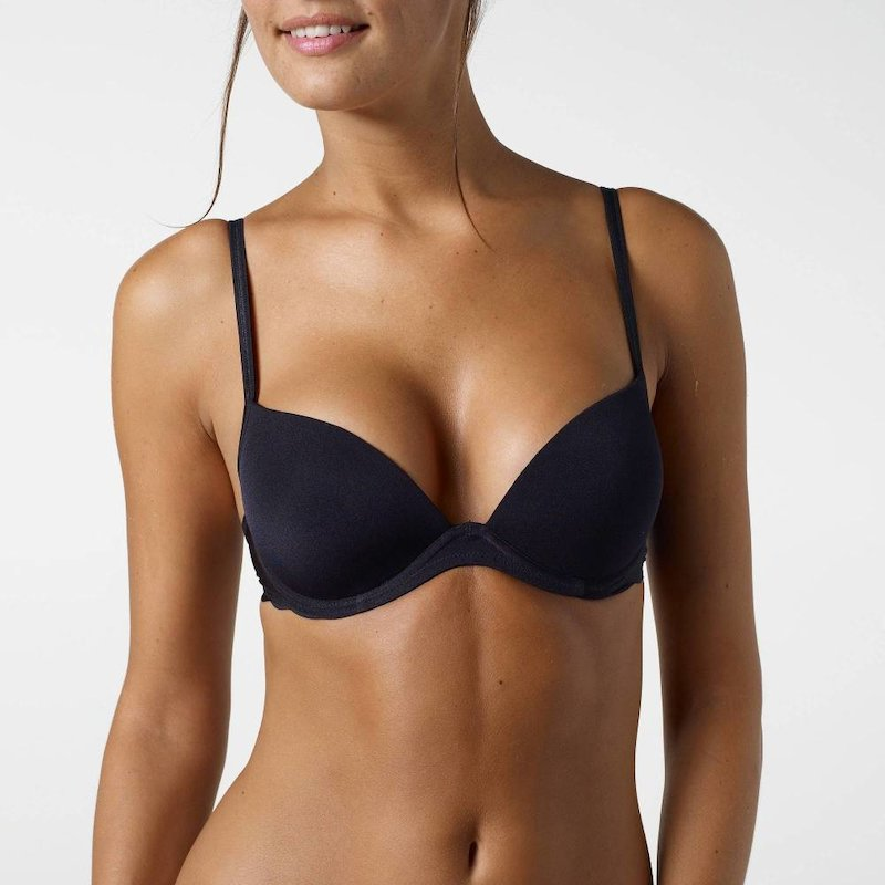 Sujetador push up Hot Hips de SLOGGI mujer - Negro