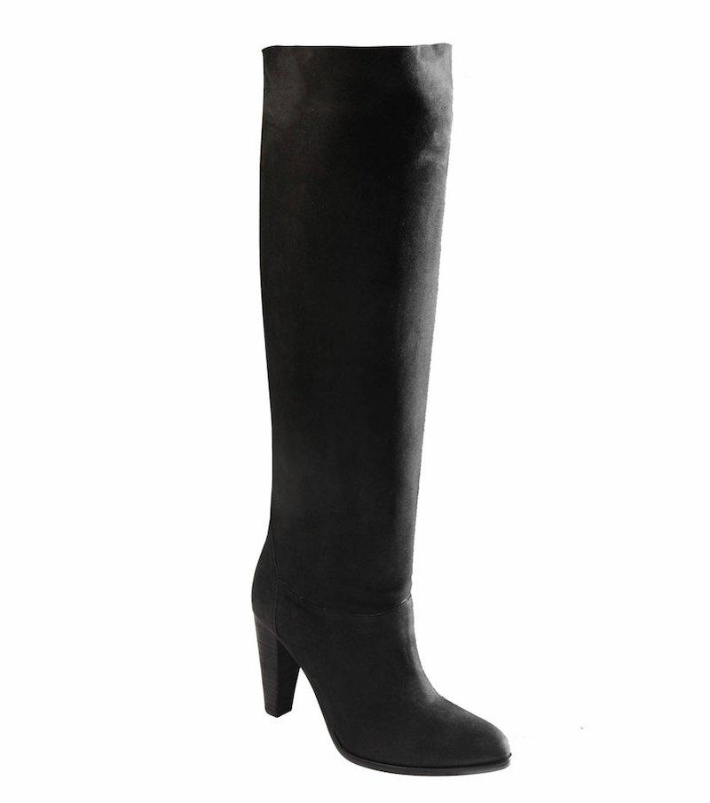 Botas altas mujer en cuero 100%