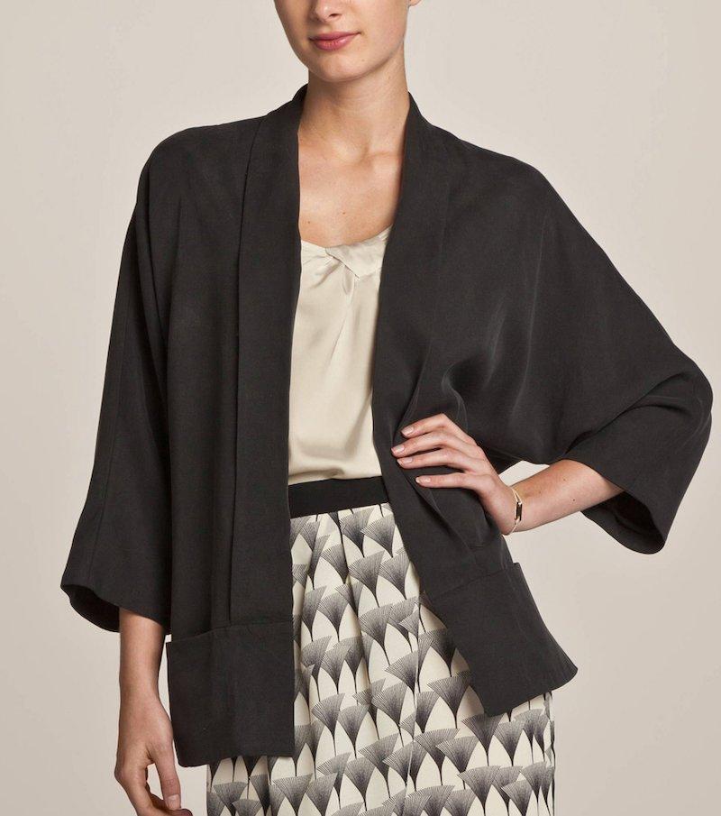 Chaqueta mujer estilo kimono