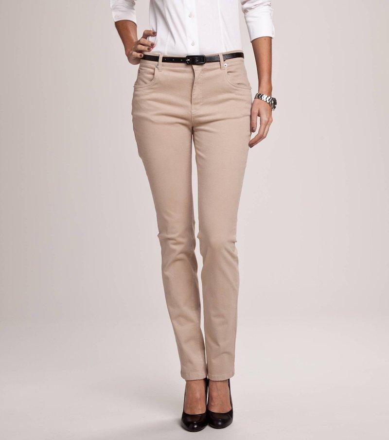 Pantalón 5 bolsillos stretch mujer QUALITÉ PREMIUM