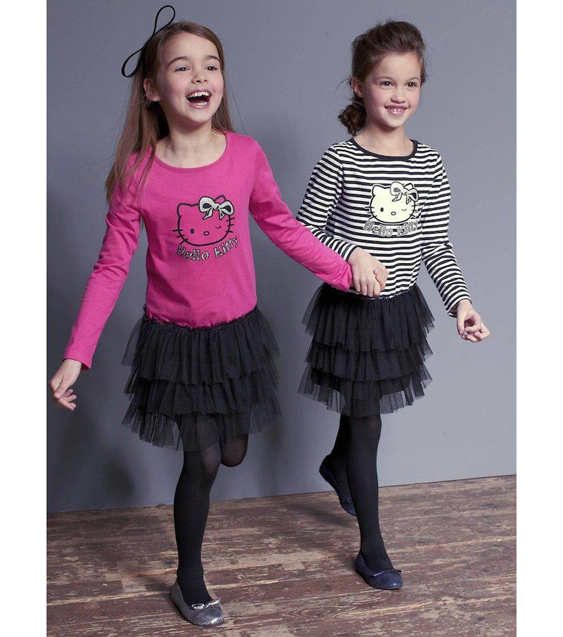 Vestido estilo bailarina niña