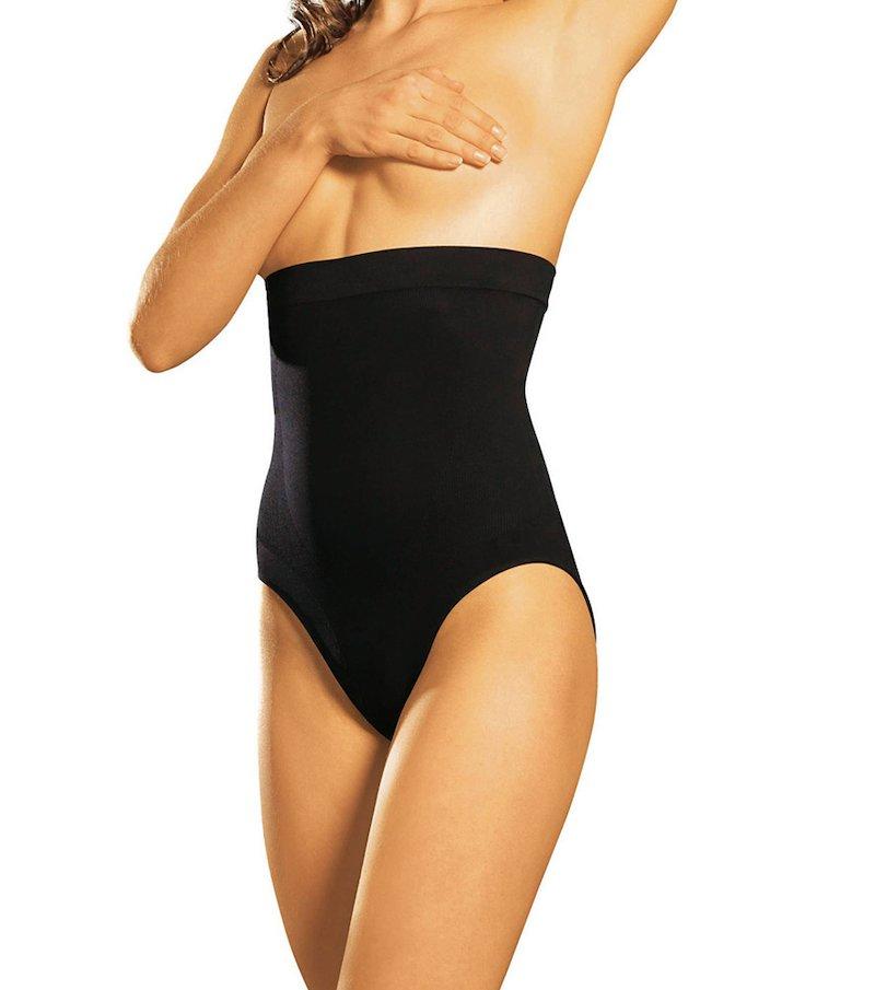 Braga mujer talle alto estilizante LYTESS - Negro