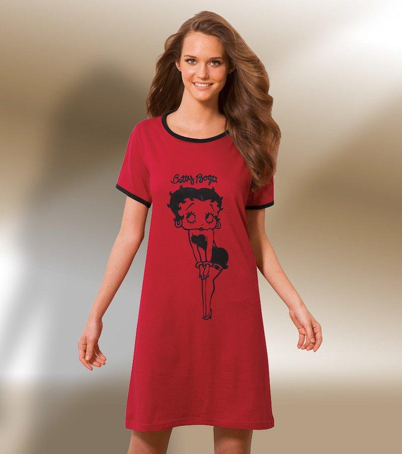 Camisón mujer manga corta Betty Boop