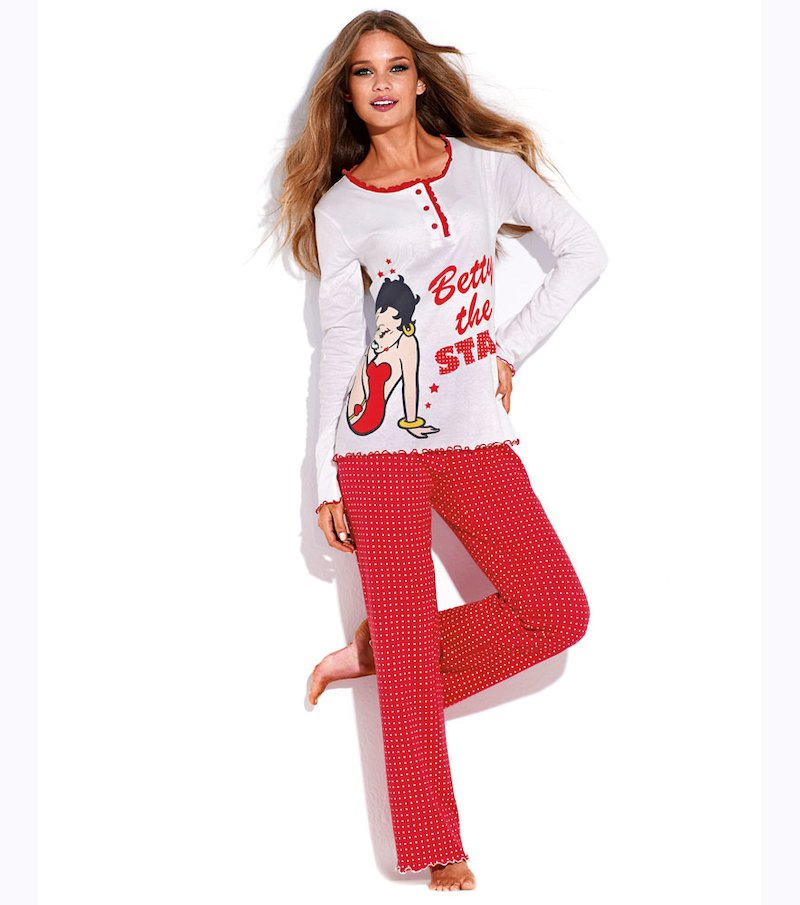 Pijama largo mujer Betty Boop