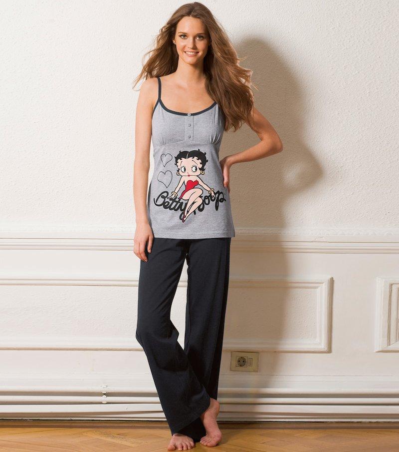 Pijama 2 piezas mujer de tirantes Betty Boop