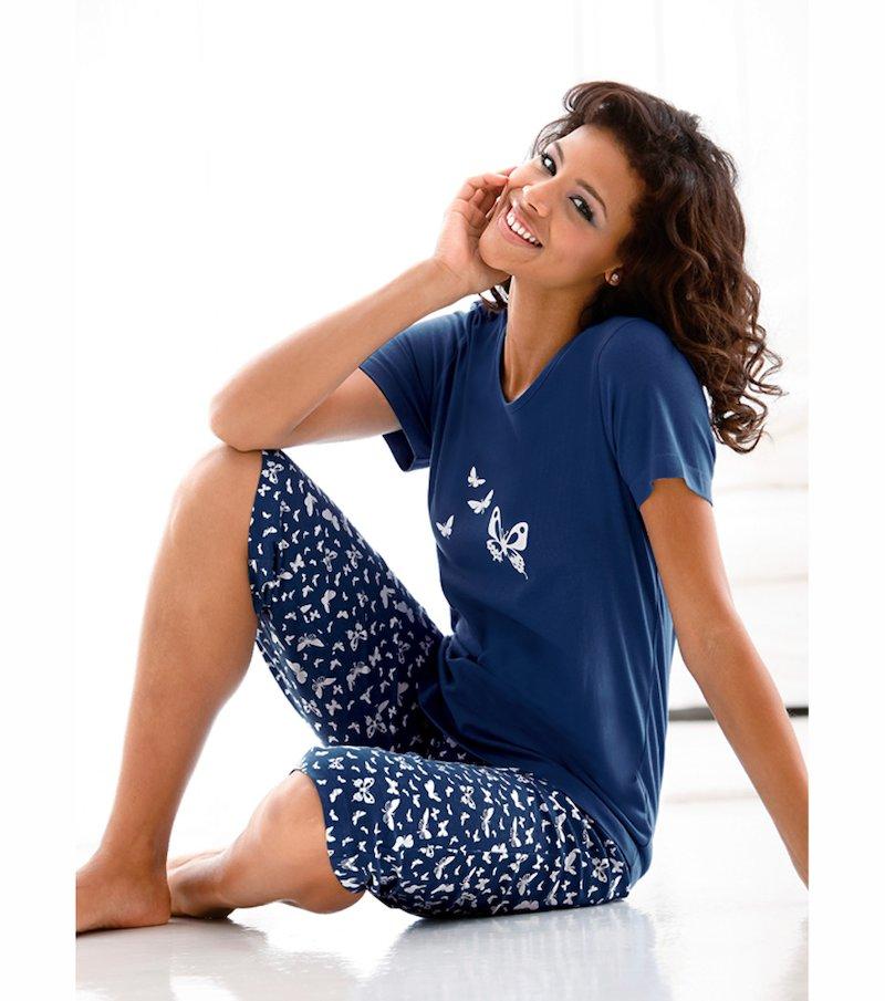 Pijama 2 piezas mujer pirata 100% algodón