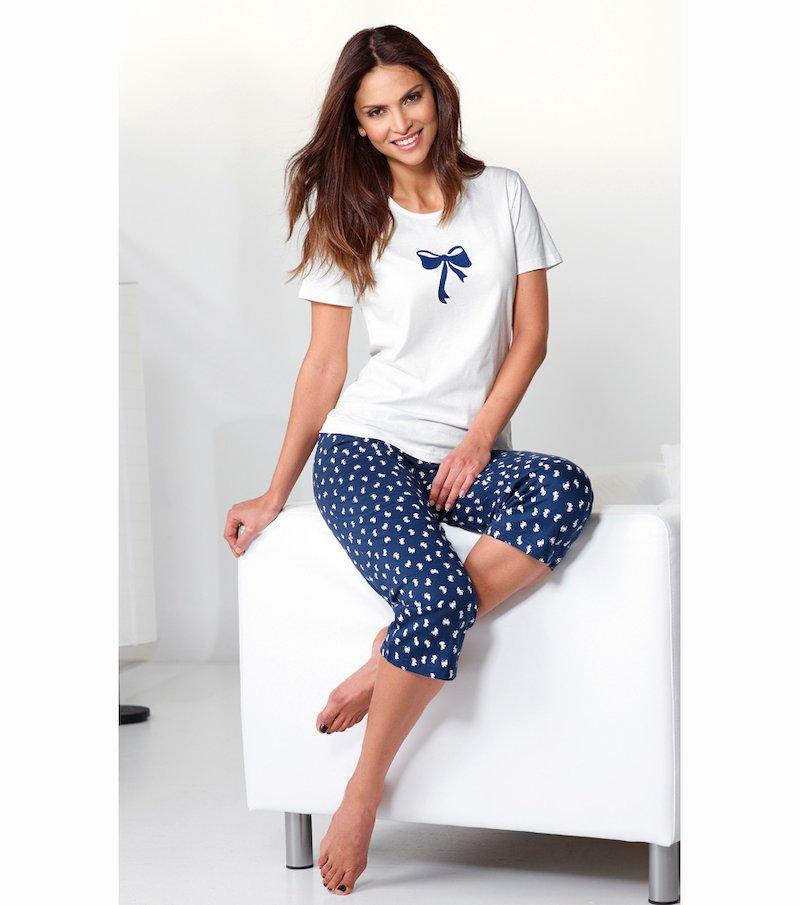 Pijama 2 piezas mujer 100% algodón