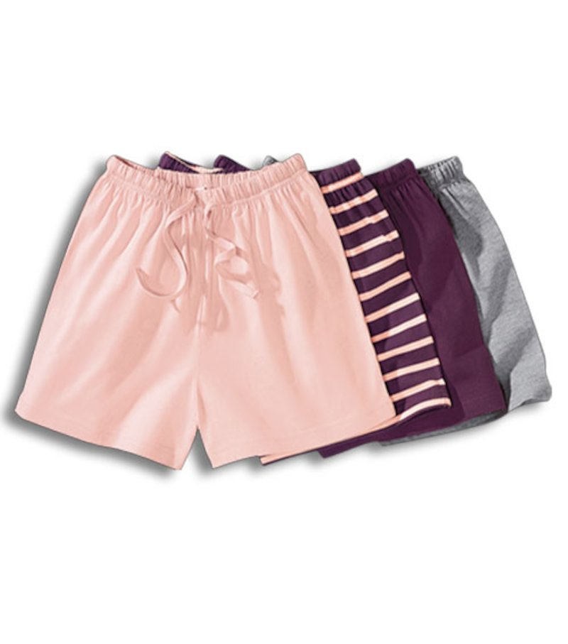 Short con cinturilla elástica 100% algodón