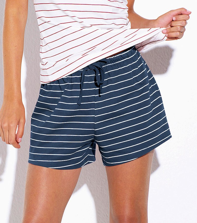 Pantalón short mujer de algodón