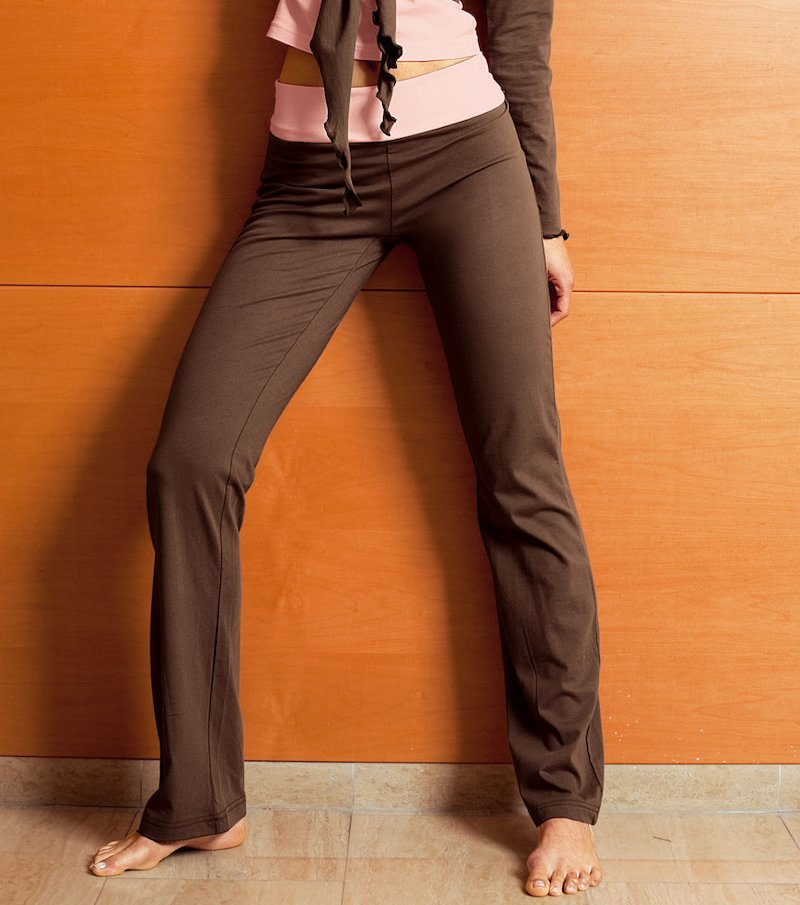 Pantalón largo de mujer 100% algodón