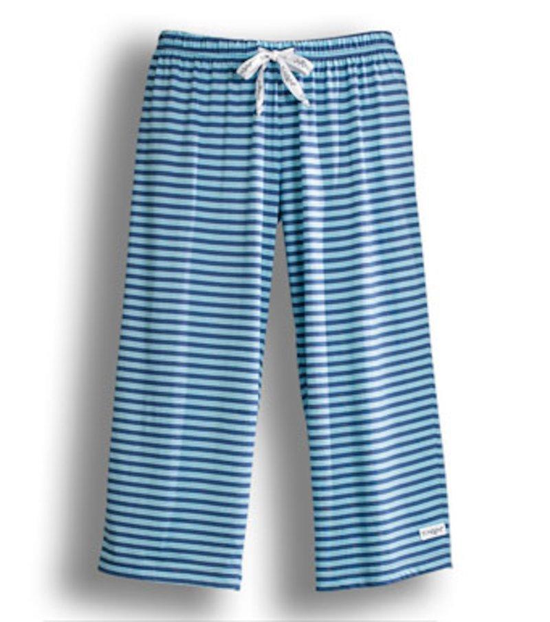 Pantalón pirata de pijama mujer de algodón