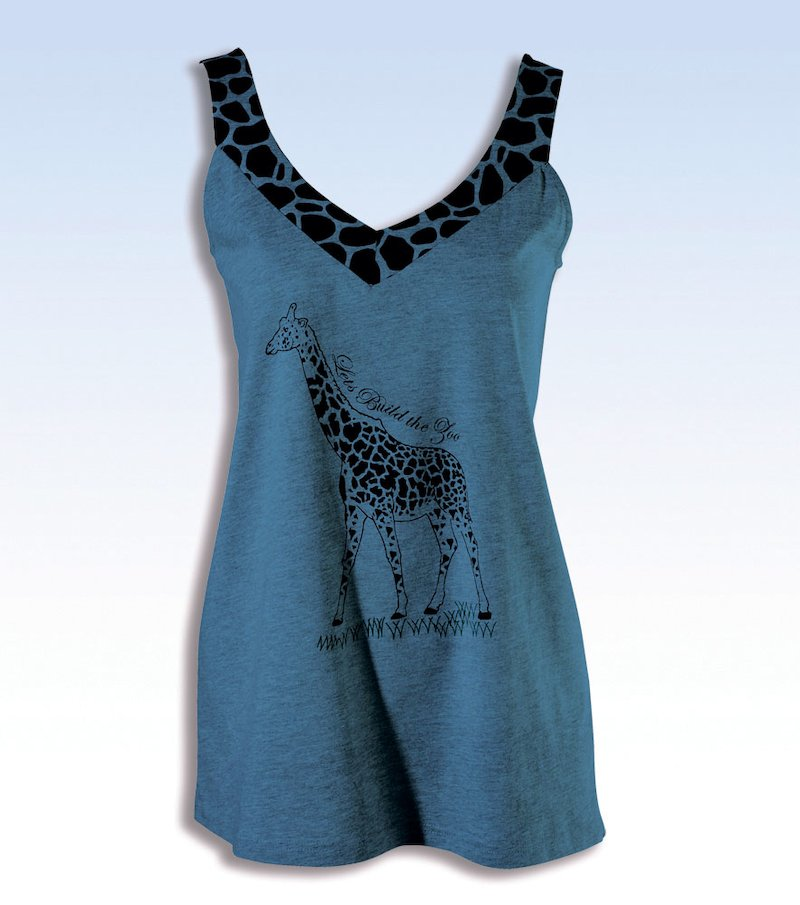 Camiseta de pijama mujer sin mangas