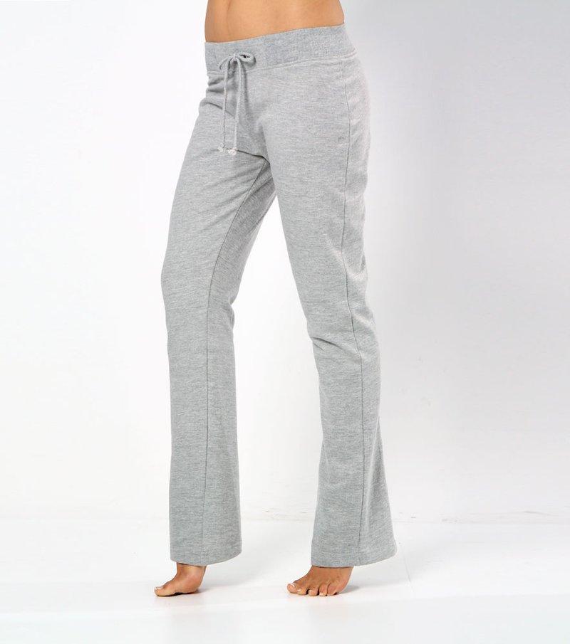 Pantalón largo mujer de felpa