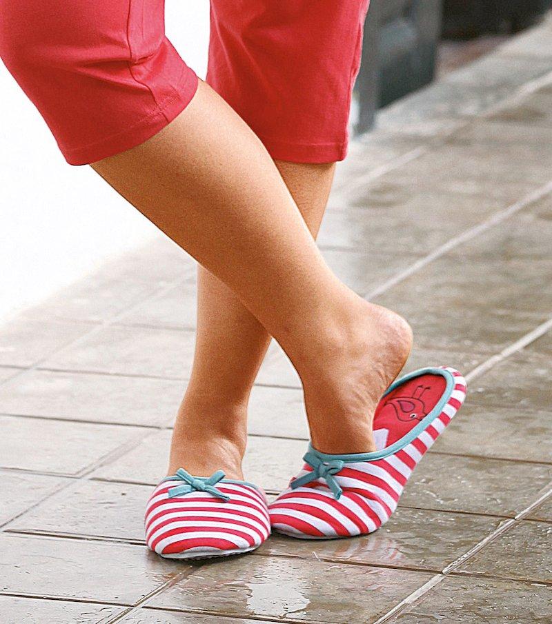 Zapatillas pantuflas mujer