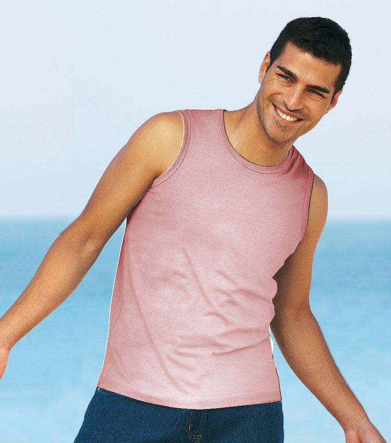 Camiseta sin mangas para hombre