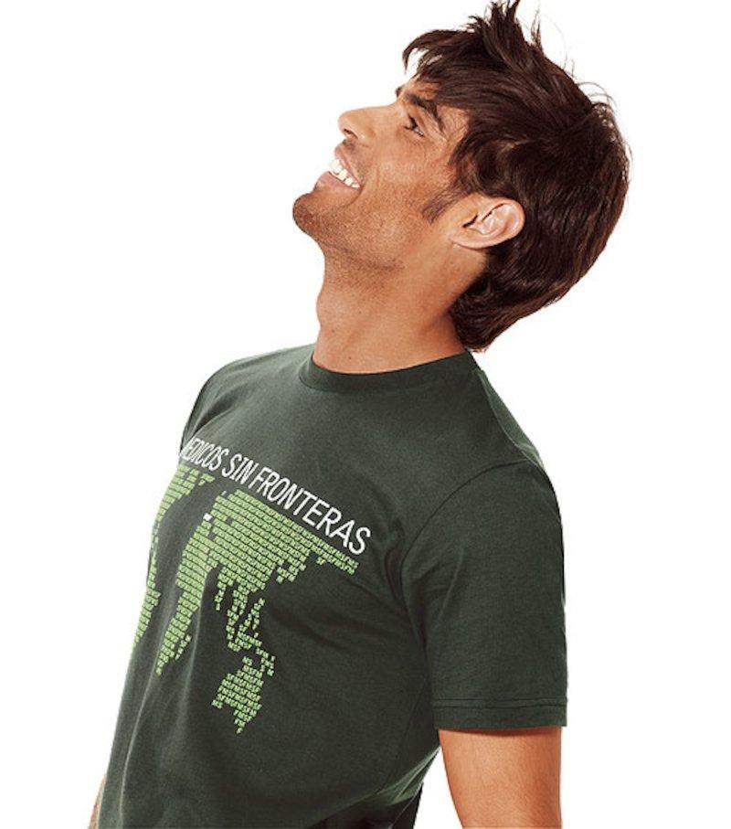 Camiseta manga corta hombre Médicos Sin Fronteras