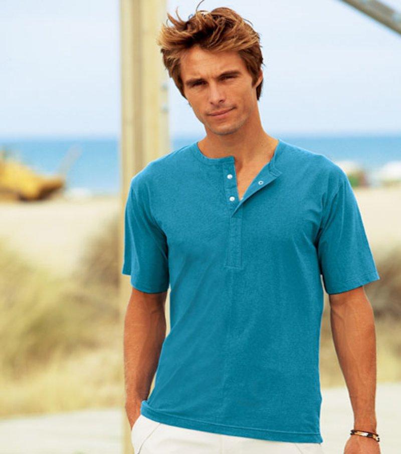 Camiseta de hombre, manga corta