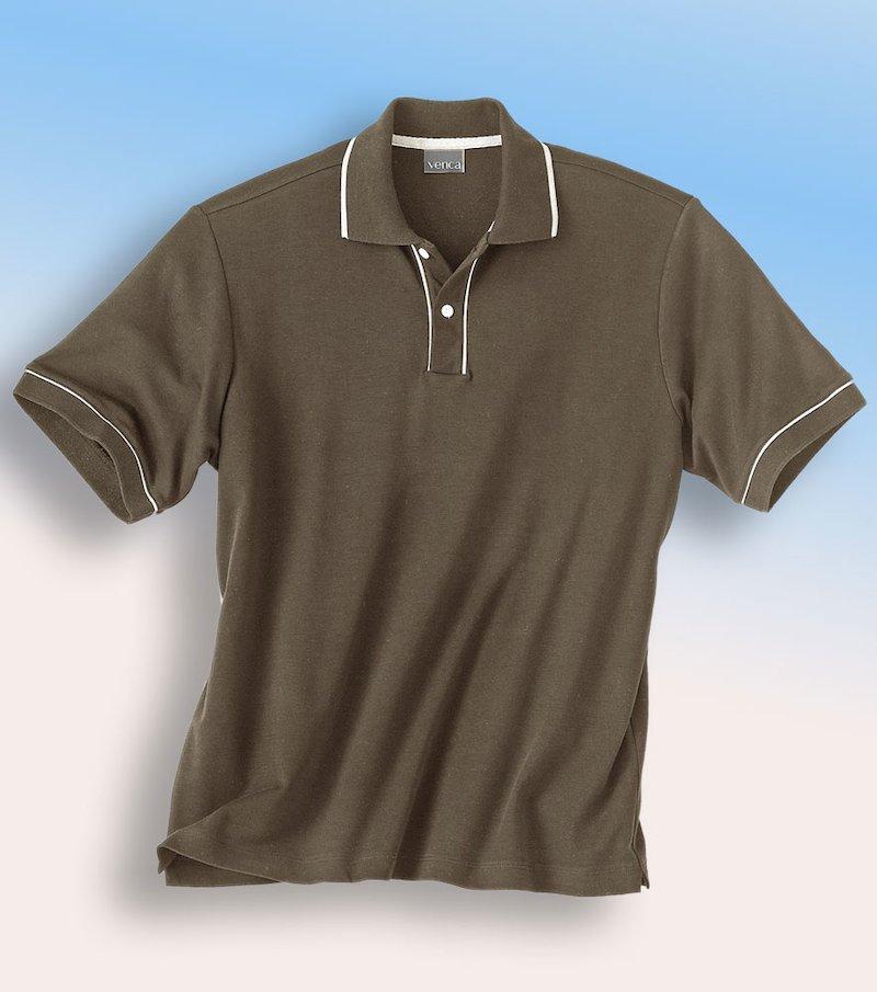 Camiseta polo hombre manga corta de piqué