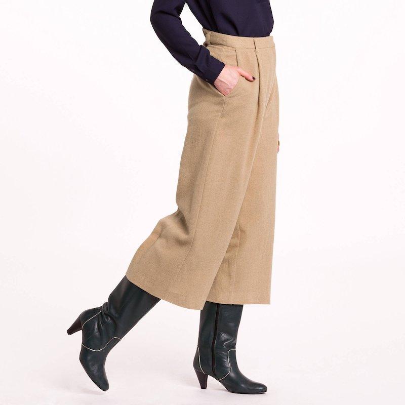 Pantalón ancho mujer