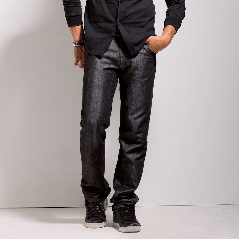 Pantalón largo hombre de loneta elástica
