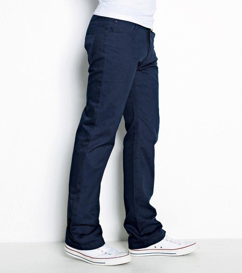 Pantalón 2 largos hombre algodón twill