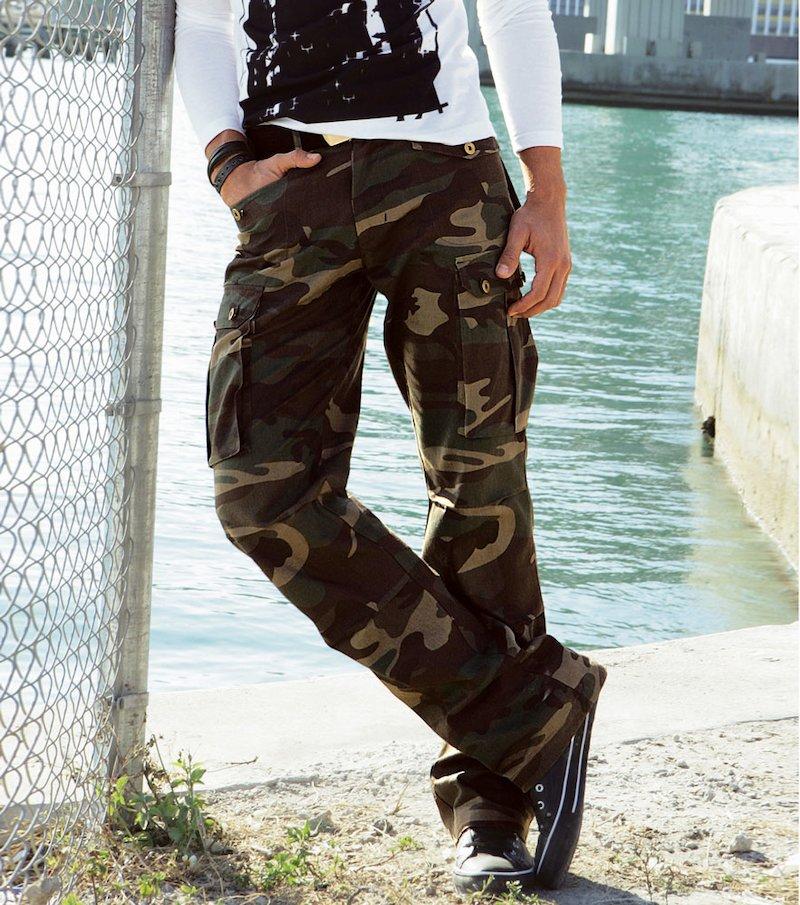 Pantalón largo - Verde