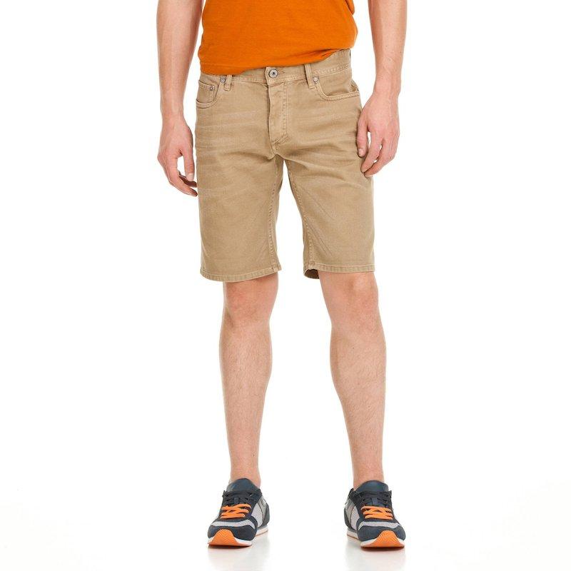 JACK & JONES - Pantalón short de corte recto para hombre