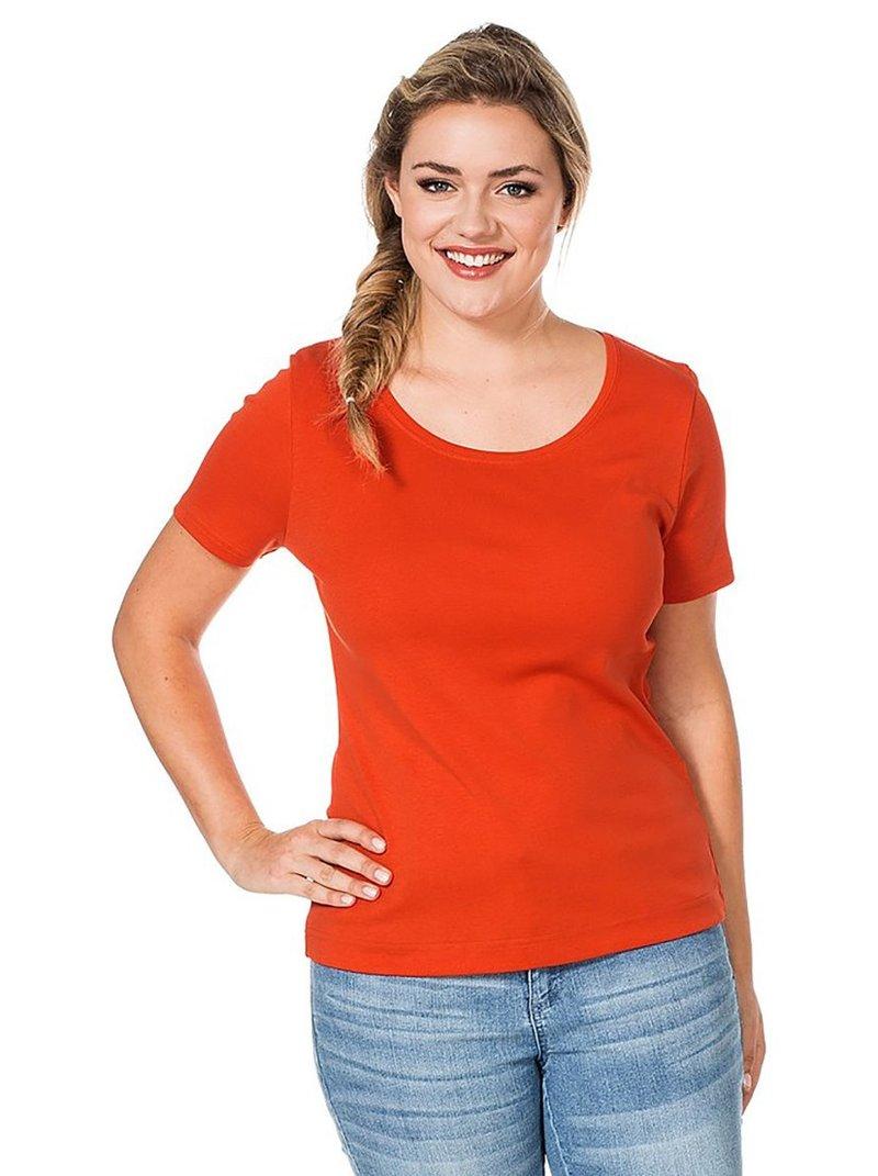 Camiseta básica manga corta mujer